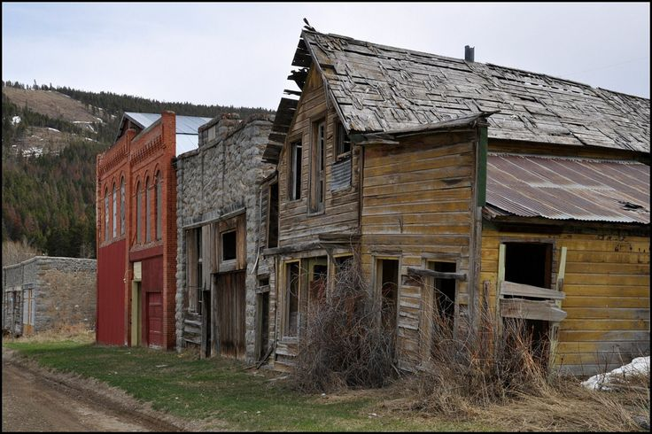Helena Montana ghost town