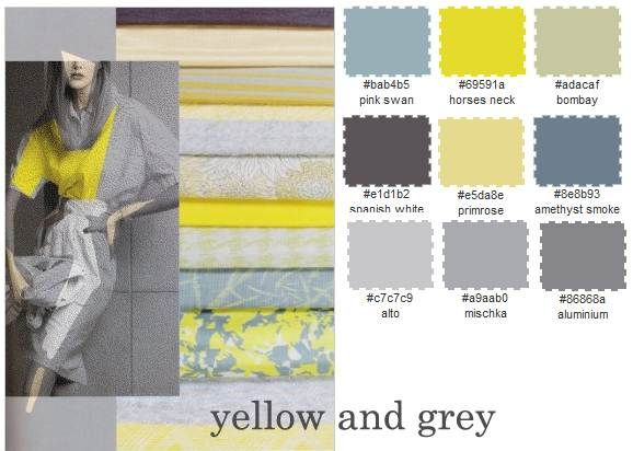 16 Best Vintage Decor Images On Pinterest Color Combinations Colors That Go With Gray And Yellow