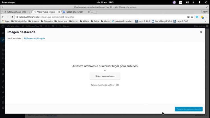 A anadir Entradas en Wordpress