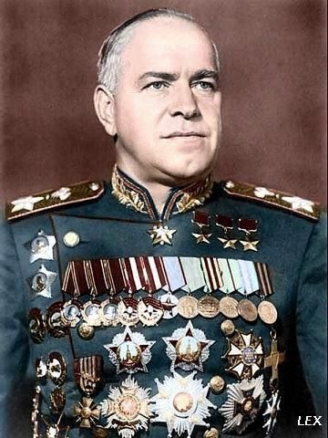 Marshal Zhukov (1896-1974)(Georgy Konstantinovich Zhukov) Notable WWII Russian General