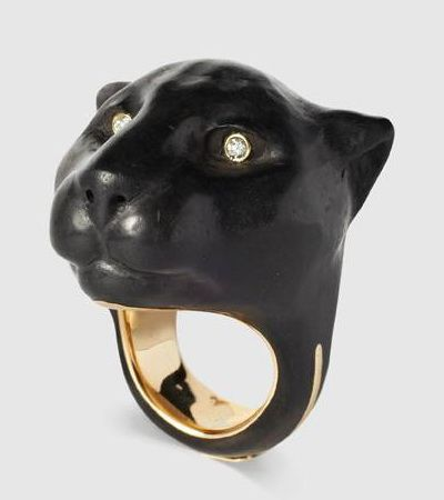 Black Diamond On Black Ring