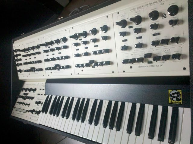 matrixsynth oberheim fvs 1 four voice vintage analog synth in new synths in 2019. Black Bedroom Furniture Sets. Home Design Ideas