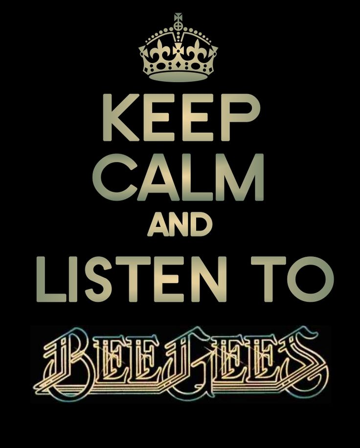 LISTEN TO BEE GEES