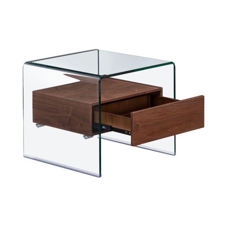 Excelsior Side Table Modern Glass Dining Table Mod Furniture Furniture