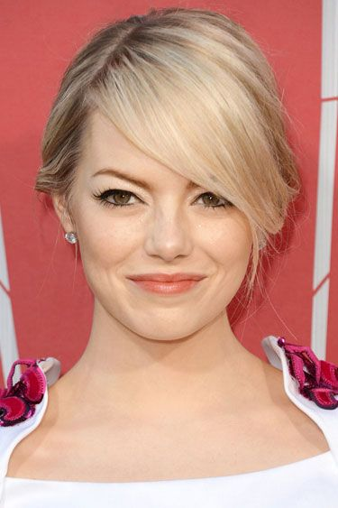 Emma stone blonde hair color good