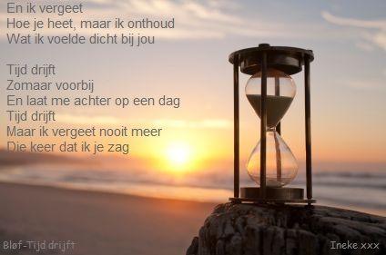 Tijd drijft