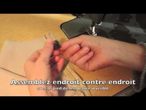▶ Zipper in a lined skirt DD - YouTube she has great stuff  spc