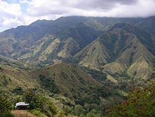 Mountains in South Sulawesi