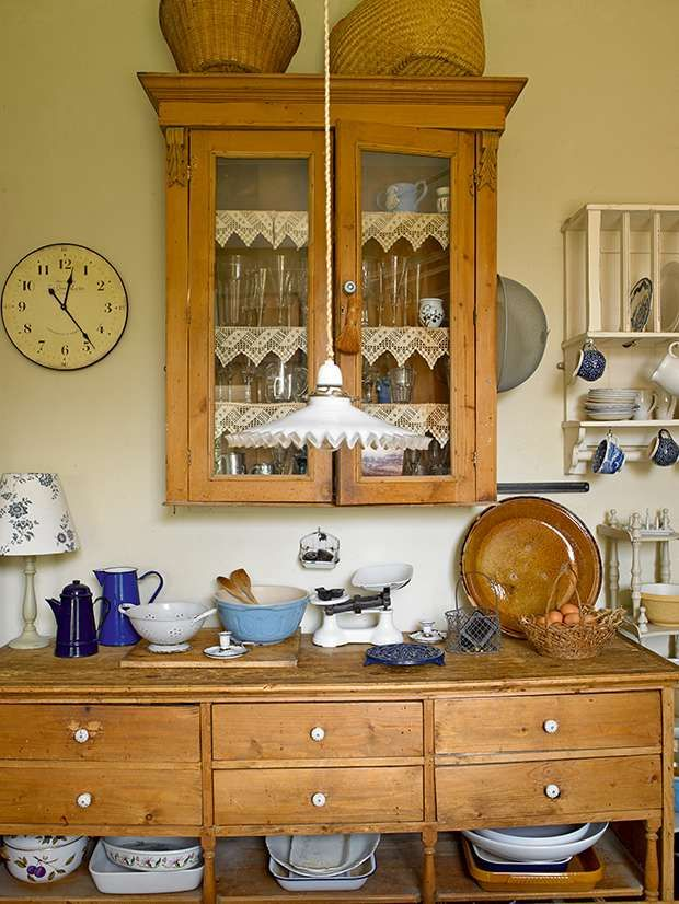 Cottage decor: Kitchen | Sarah Dubois and Nigel Philips via Period Living