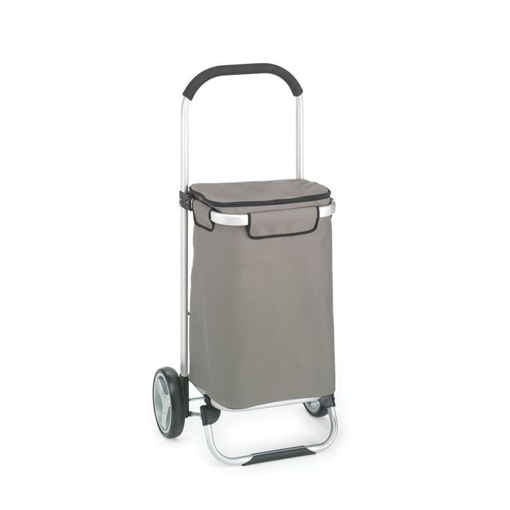 Foldable Tote Cart Shopping Trolley Folding Wheel Grocery Rolling Luggage Dolly #HOMZ