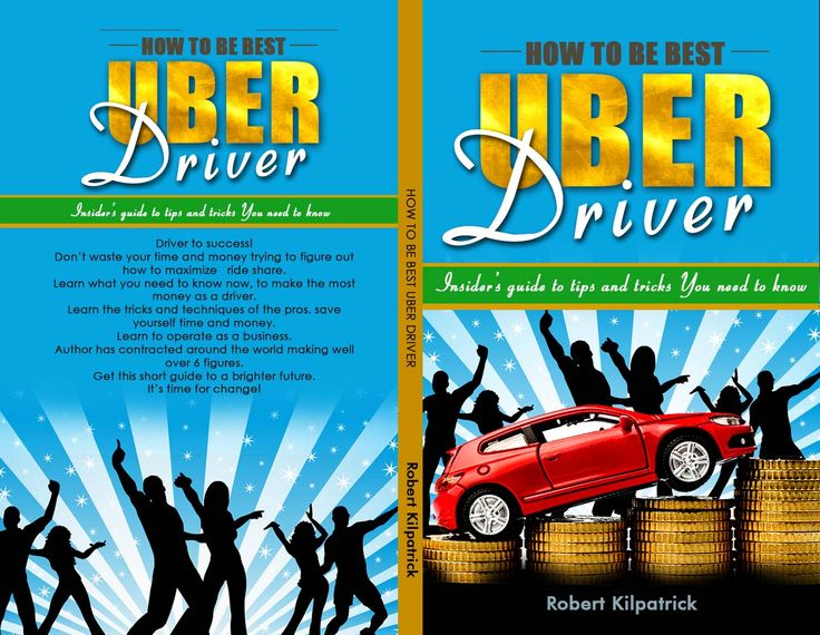 Ride share success book cartoon! UBER