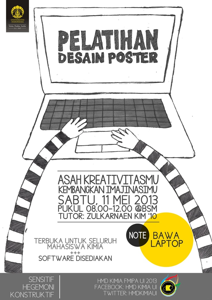 DESIGN TRAINING POSTER