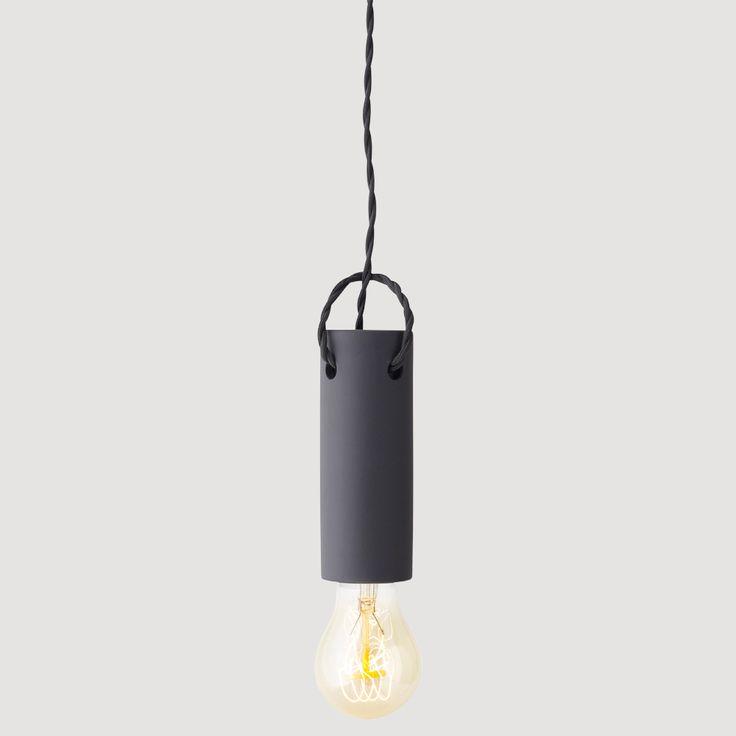 menu tied pendant | FORSIDEN - Produkter - SOVEROM - Belysning - Tied Pendant – Carbon