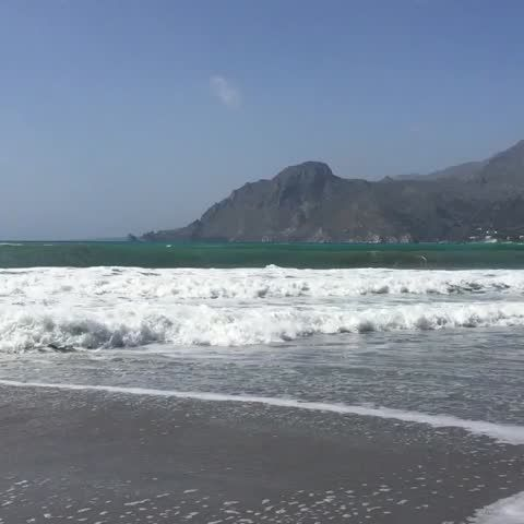 "Watch PlakiasCrete's Vine, ""Do you #feel the #sea #breeze? #surf time #Plakias #Crete #Greece"""