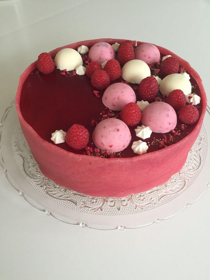 Hindbær Lagkage