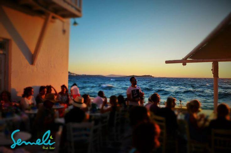 Sunset @Semeli bar