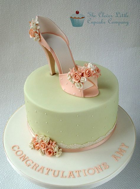 Hen Party Cake by The Clever Little Cupcake Company, via Flickr