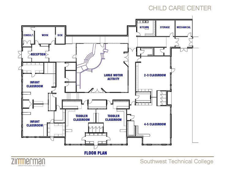 25 best ideas about child care centers on pinterest for Blueprints for homes already built