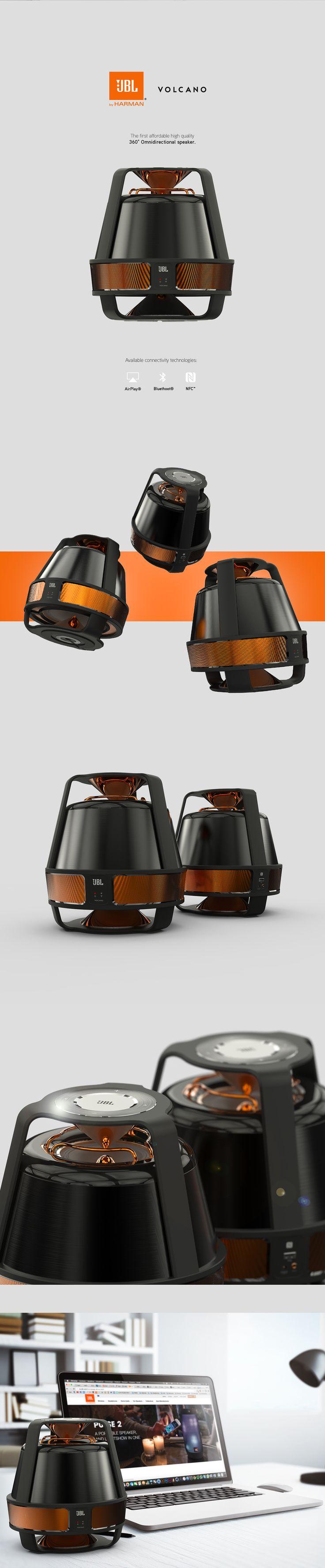 JBL® Volcano - Omnidirectional Speaker on Behance