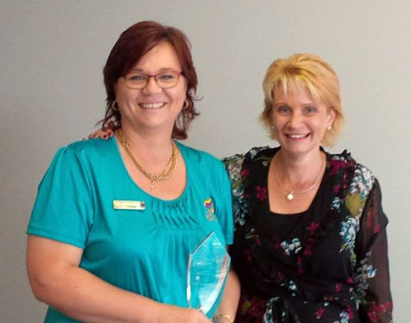A distinguishing win for Tanja as Beaumont's Shared Services winner Employee of the Year for 2016.