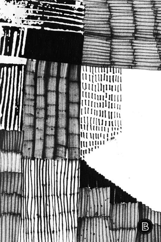 pattern, surface design inspiration for Capi students at milliande.com , design , textiles, sketchbook with thanks to Eva Bellanger - Erritmo