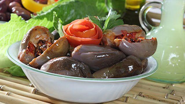 طريقة عمل المكدوس Recipe Food Mediterranean Recipes Arabic Food