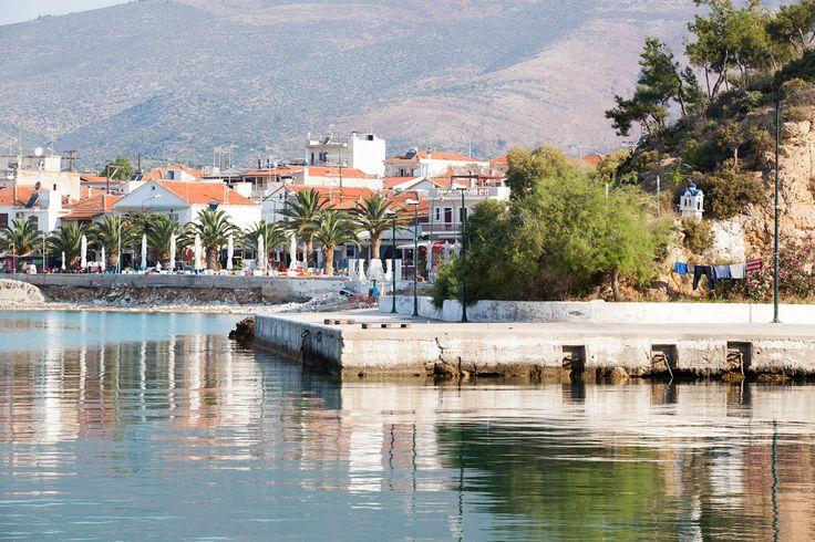 Limenaria on Thassoksen toiseksi suurin kaupunki. #Thassos #Kreikka #Greece #travel #beach #matka #loma #tjäreborg #letsgo #parhaatviikot