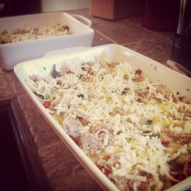 Egg casseroles are one of my favorites. There are so many varieties available for little work! It also helps that breakfast is awesome. We have breakfast for dinner at our LifeGroup on occasion and…