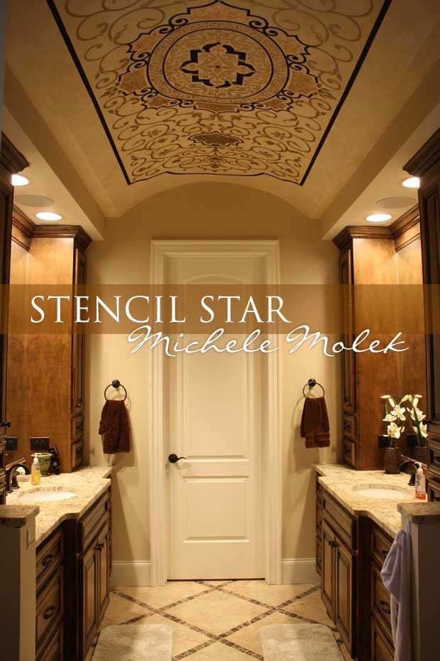 82 best images about stencil stars on pinterest vinyls for Best paint finish for ceilings