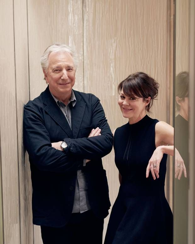 Alan Rickman & Helen McCrory: 'With us it's mostly about laughter and the odd Martini' - Profiles - People - The Independent