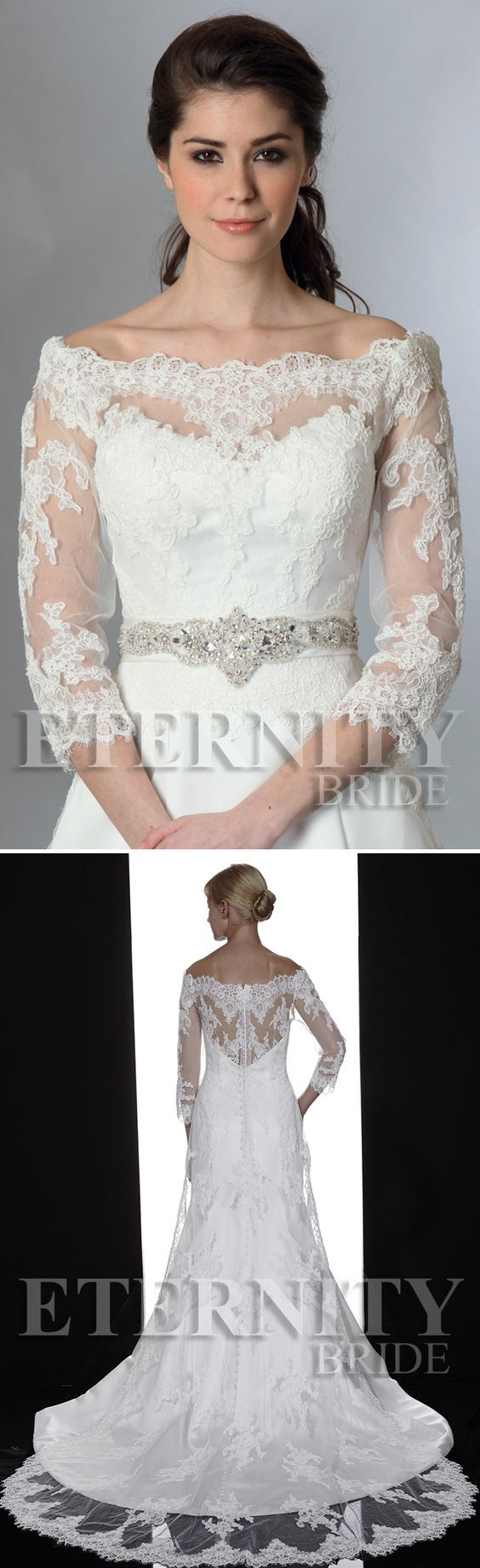 J057 bridal jacket from Eternity Bride and Art Couture