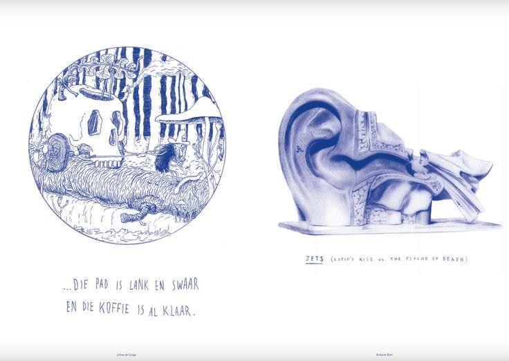 Ballpoint pen ink magazine spread from iJusi magazine