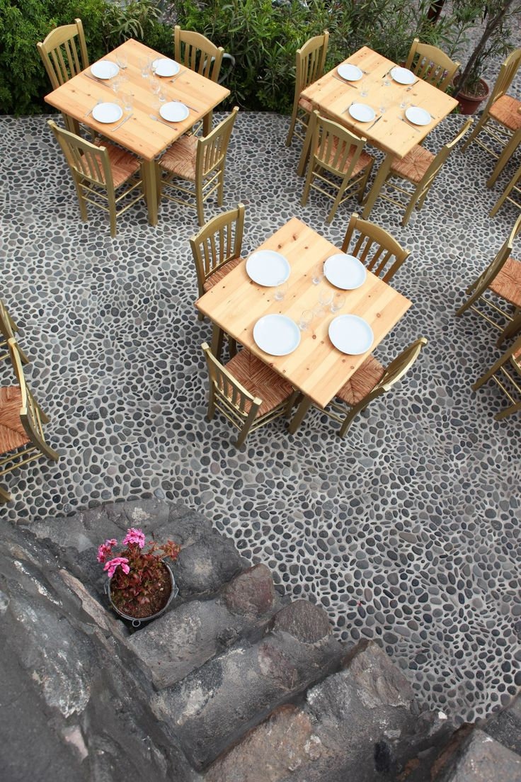 Ilios&Petra Restaurant has an excellent outdoor area for al fresco dining!