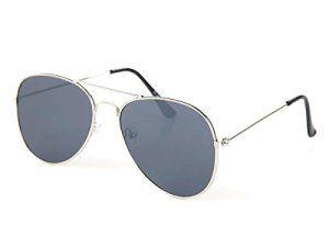 Lunettes de soleil plat design pilote police type Aviator très vintages accessoire classique belle paire de lunette souple homme femme…