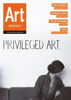 Art Monthly digital magazine #370 October 2013