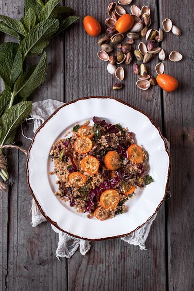 Cous Cous with Kumquat, Dates and Pistachios   Flickr - Photo Sharing!