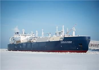 Ice-breaking LNG carrier Christophe de Margerie