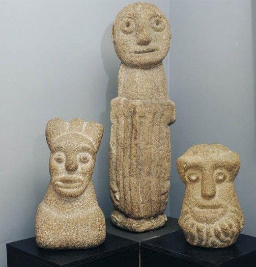 Statues de barbus Muller, Neuilly-sur-Marne