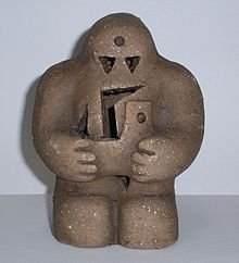 Golem - In Jewish folklore, a golem (/ˈɡoʊləm/ GOH-ləm; Hebrew: גולם) is an animated anthropomorphic being, created entirely from inanimate matter. The word was used to mean an amorphous, unformed material in Psalms and medieval writing.