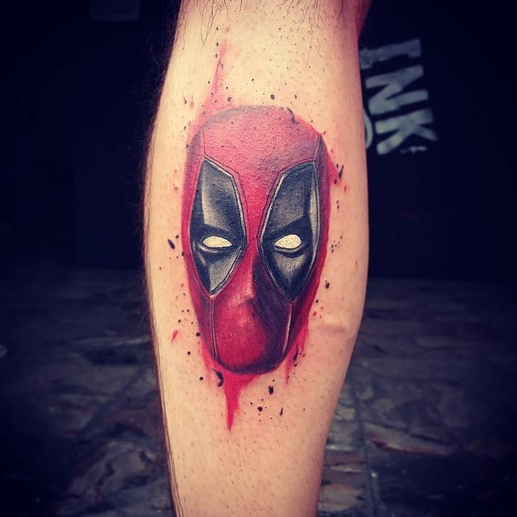 70 Dashing Deadpool Tattoo Designs: 25+ Trending Marvel Tattoos Ideas On Pinterest