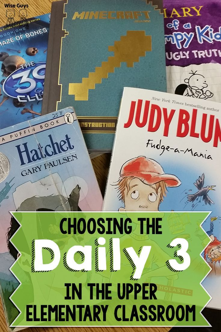 Have you seen this?? We shared why we have switched to doing the Daily 3 instead of the Daily 5 – and how it works in our classrooms!: