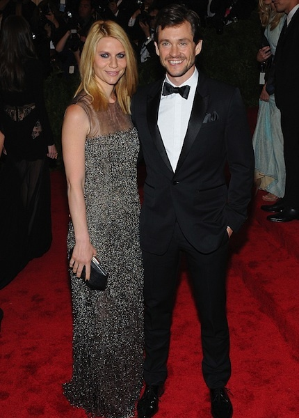Claire Danes & Hugh Dancy at the MET Gala