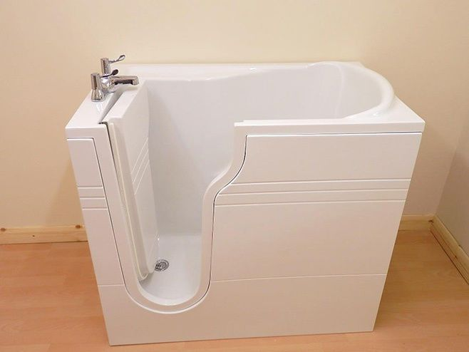 The Athena Mini Walk In Bath, Compact, Integral Seat FREE Fitted 7 Colour Light  | eBay