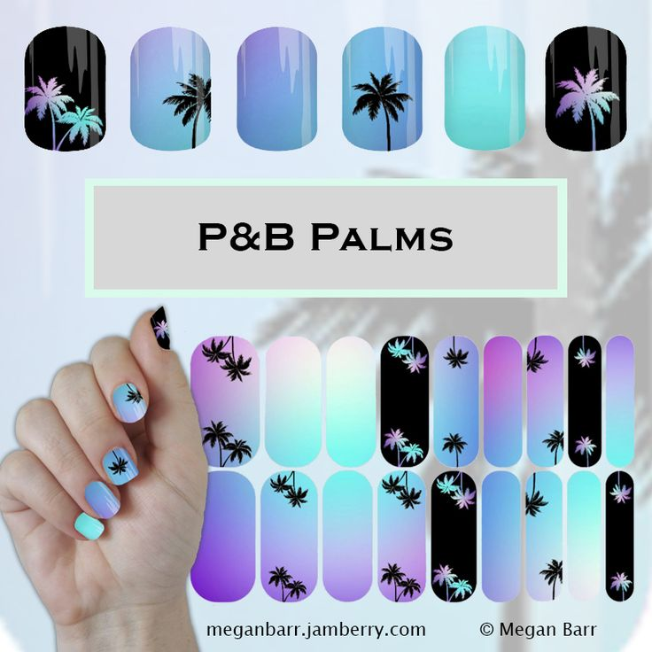 P&B Palms. View designs, ordering details and more in my
