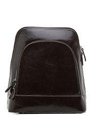 Рюкзак Elite Style  Стильный и современный рюкзак трансформер это отличное решение на каждый день. Такой аксессуар можно использовать в качестве сумки через плечо. Поэтому он отлично сочетается с любым образом который выбирает его обладательница. Чтобы мелкие атрибуты не затерялись в недрах рюкзака в нем имеются карманы открытого и закрытого типа.Закрывается аксессуар на молнию.Снаружи впереди большой карман на молниисзади так же карман на молнии. Модель пошита из натуральной кожи лямки…