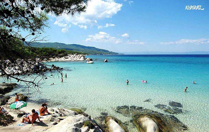 Beach Kavourotrypes. Sithonia. Chalkidiki!!!