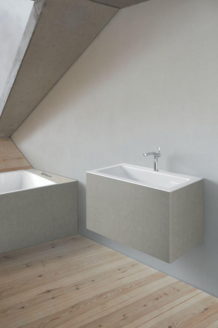 Bette Loft Einbauwaschtisch ohne Hahnloch, A230 800 x 495 mm