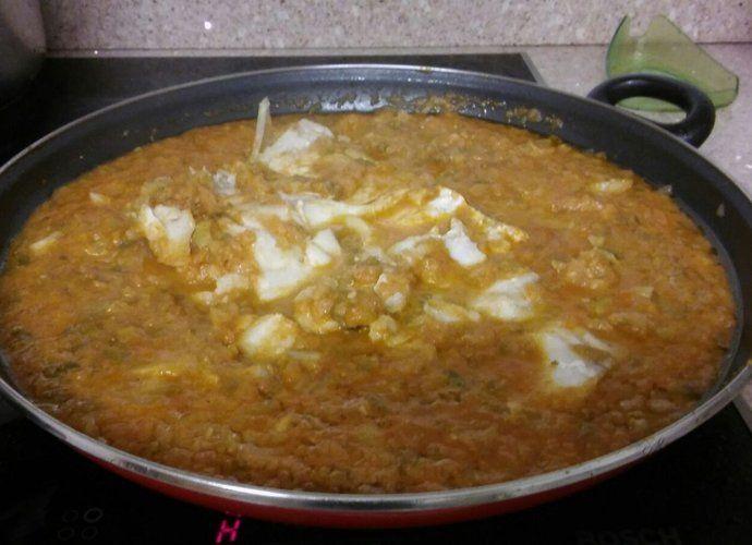 Bacalao con Sanfaina 1.1 para #Mycook http://www.mycook.es/cocina/receta/bacalao-con-sanfaina-11