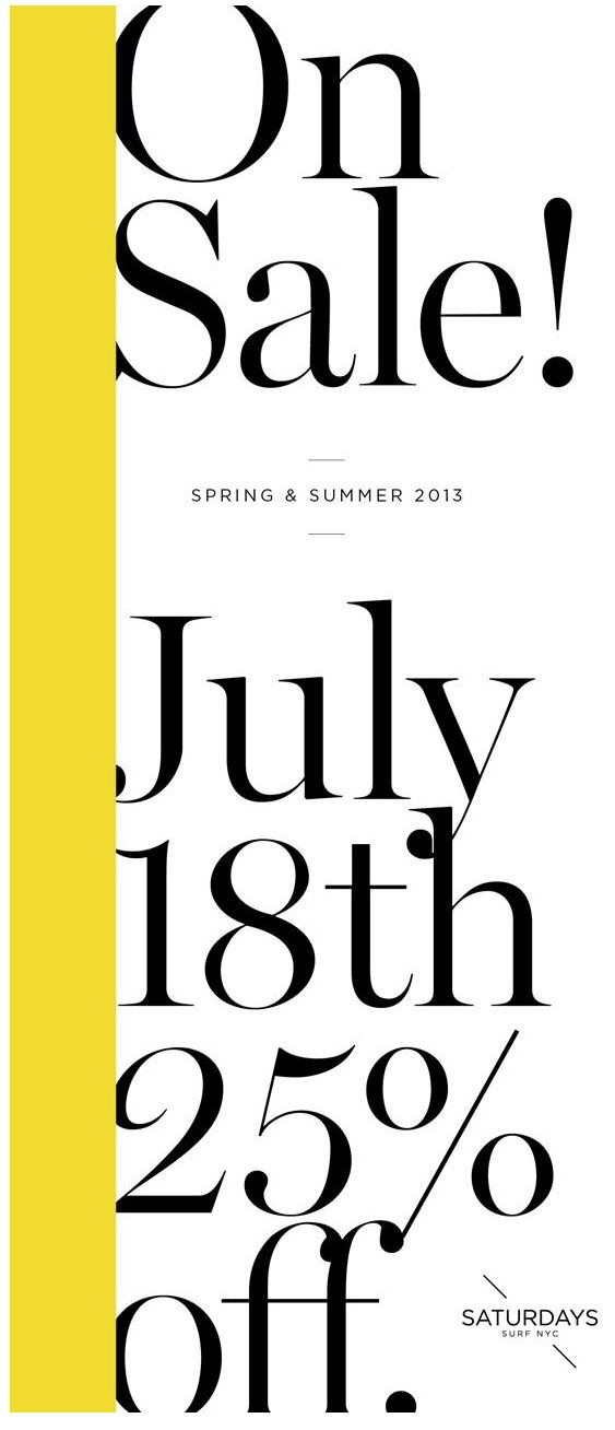 Kate Spade : Typography