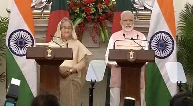 New Delhi: India and Bangladesh has signed 22 Memorandum of Understandings among themselves in the presence of Bangladesh PM Sheikh Hasina and Indian PM Narendra Modi. Details Awaited